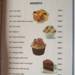 Janu's Paradise Restaurant Speisekarte