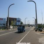 Aluthgama Sicht Richtung Bentota