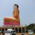 Buddha Kande Vihara, der heiligen Berg