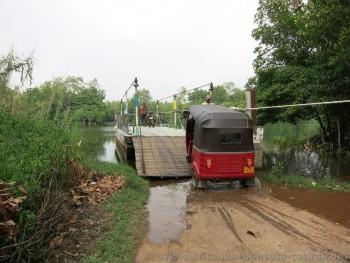 Fähre Bentota Ganga