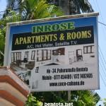 Inrose Apartments & Rooms Bentota Adresse und Telefon