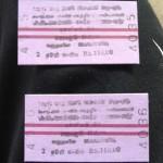 Fahrkarte nach Colombo Maradana