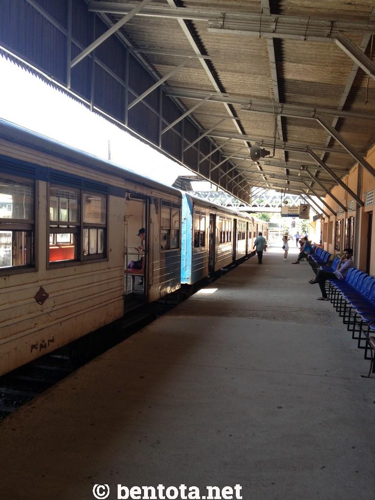 Bahnhof Aluthgama Fahrkarte kaufen