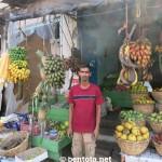 Unser Obsthändler in Aluthgama (hatten immer gute Preise bei ihm)