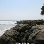 Bentota Beach nördlichste Spitze