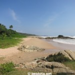Bentota Beach Süden