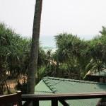 Warahena Beach Hotel Sicht aus Meer